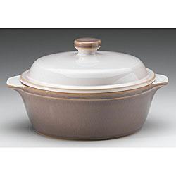 Denby Truffle Round Casserole Dish