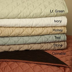 Reversible 300 Thread Count Quilt Set