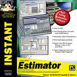 Instant Estimator Productivity Software