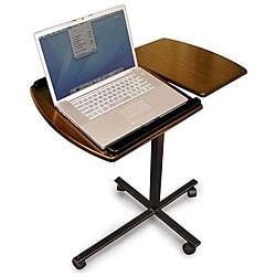 Adjustable Walnut Laptop Desk