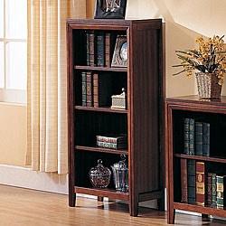 Overstock - Elsa 4-shelf Large Home Office Bookcase - $119.99