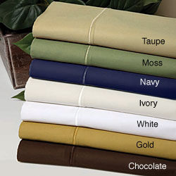 Solid 550 Thread Count Egyptian Cotton Sheet Set