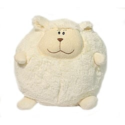 American Mills 7-inch Round Plush 'Sheep' Pillow