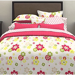 Flower Power 7-piece Bedding Set