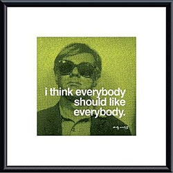 Andy Warhol 'I think everybody should like everybody' Art