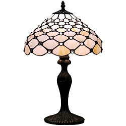 Tiffany-style Jewel Table Lamp