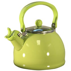 Reston Lloyd Calyspo Basics Lime Whistling Tea Kettle