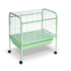 Prevue Pet Products Sturdy Steel Deep Pan Small Animal Cage and Stand