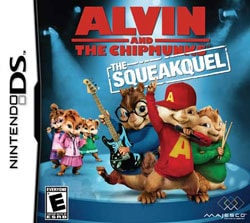 NinDS - Alvin and The Chipmunks: The Squeakquel