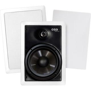 BIC America M-PRO6W 150 W RMS Speaker - 2-way - 2 Pack - White