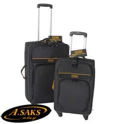 A.Saks 27-inch Expandable Spinner Upright with Suiter