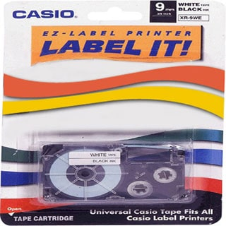 Casio White Tape