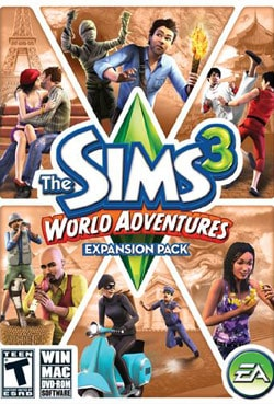 PC - Sims 3 World Adventures Expansion Pack