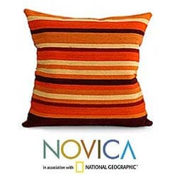 Wool 'Kingdom of the Sun' Cushion Cover (Peru)