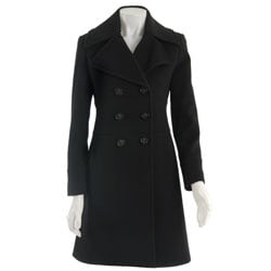 Via Spiga Women's Cashmere Blend Wool Walker Coat 