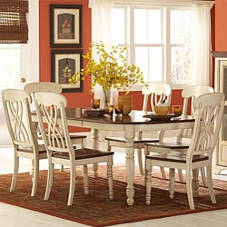 Mackenzie 7-piece Antique White Dining Set