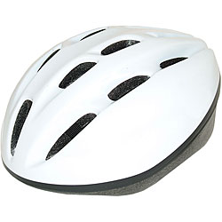 Adult White 1500 ATB Bicycle Helmet (58-62 cm)