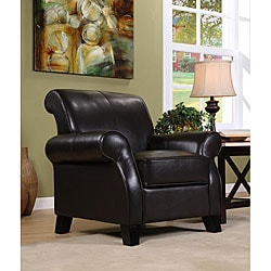 Noho Bi-cast Leather Club Chair
