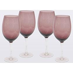 Certified International Amethyst 20-oz White Wine Glasses (Set of 8)