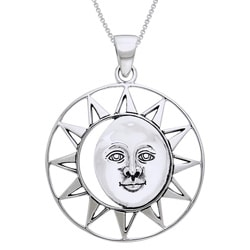 CGC Sterling Silver Sun Goddess Necklace