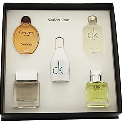 Calvin Klein Men's 5-piece Mini Fragrance Set