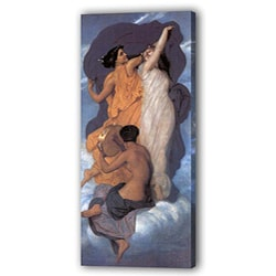 'Figure of Man and Women - The Last Supper' Giclee Canvas Art (5875497 D30006BLG1224 Sdat) photo