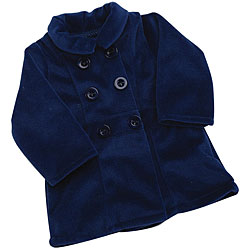 Fibre Craft Springfield Collection Blue Doll Peacoat
