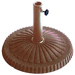 Veranda Bronze/ Stone Finish Umbrella Base
