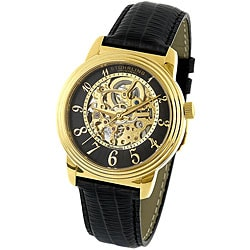 Stuhrling Original Men's Delphi Skeleton Automatic Watch