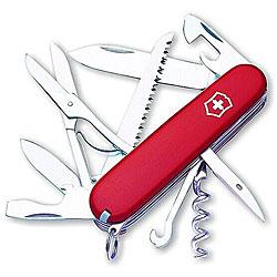 Victorinox Swiss Army Huntsman Red Pocket Knife