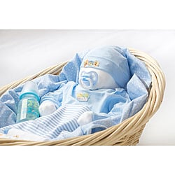 'Love Bundle' New Baby Boy Gift Basket.
