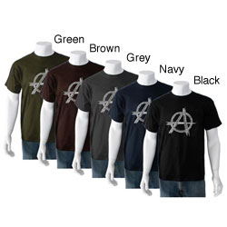 Los Angeles Pop Art Men's Anarchy 'Punk Rock' T-shirt