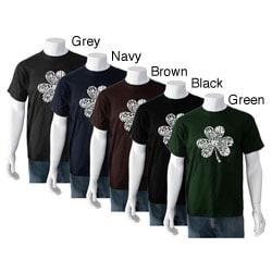 Los Angeles Pop Art Men's 'Kiss Me I'm Irish' T-shirt