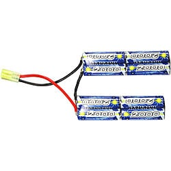 Intellect ERBAT6 2000mAh 9.6V AA Nickel Metal Hydride Cells