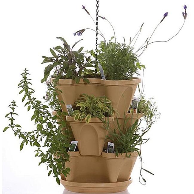 Indoor Herb Garden Kit With Light