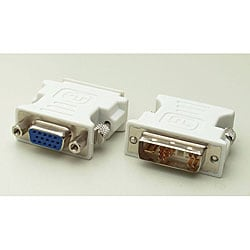 DVI-A Male to VGA HD15 Female Adapter