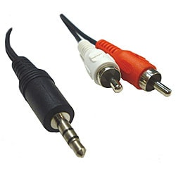 RCA Male to 3.5-mm Male Cable