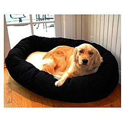 Majestic Pet Bagel-style Black 32-inch Dog Bed