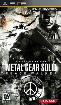 PSP - Metal Gear Solid: Peace Walker- By Konami