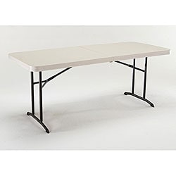 Lifetime 6-foot Fold-in-half Heavy-duty Banquet Table