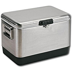 Stainless Steel 54-quart Rectangular Cooler