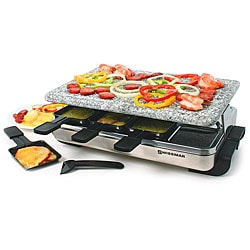 Swissmar KF-77081 8-person Stelvio Raclette Party Grill