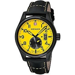 Wenger Men's Swiss Military AeroGraph Vintage Watch.