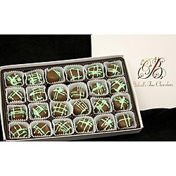 Bidwell Candies 1-pound Chocolate Mint Truffle Gift Box