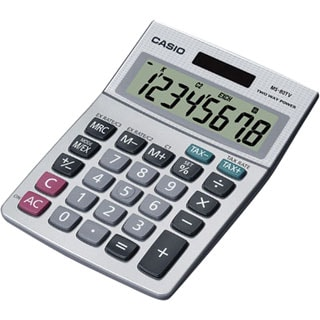 Desktop Calculator with 8-Digit Display