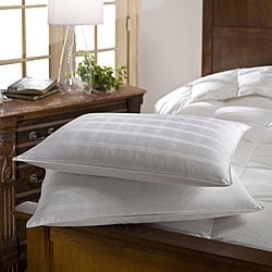 Standard 310 Thread Count Hypoallergenic Down Pillows (Set of 2)