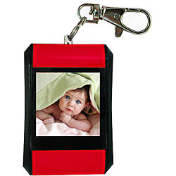 Zeikos Red Digital Picture Viewer Keychain