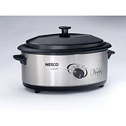 Nesco 4816-25PR Stainless Steel 6-quart Professional Roaster Oven