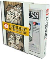 40: A Doonesbury Retrospective (Hardcover)