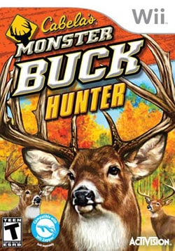 Wii - Cabela's Monster Buck Hunter - Software Only